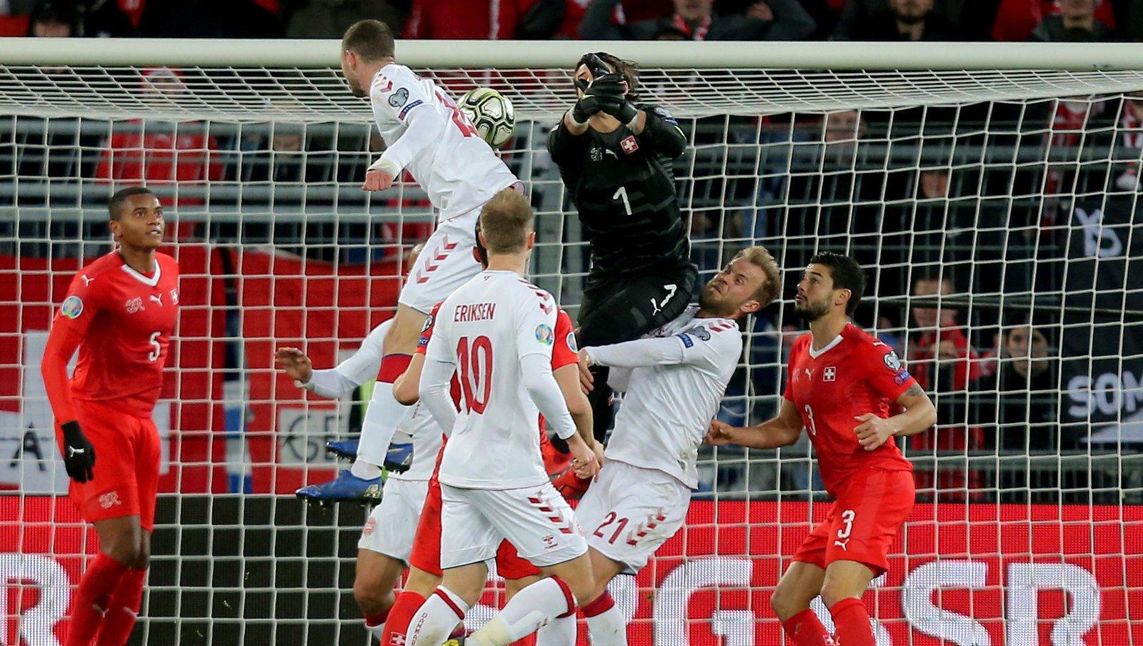 Дания - Швейцария