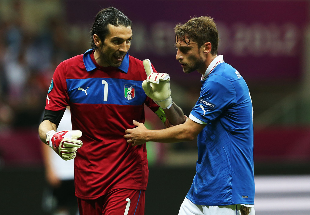 Буффон Евро 2012