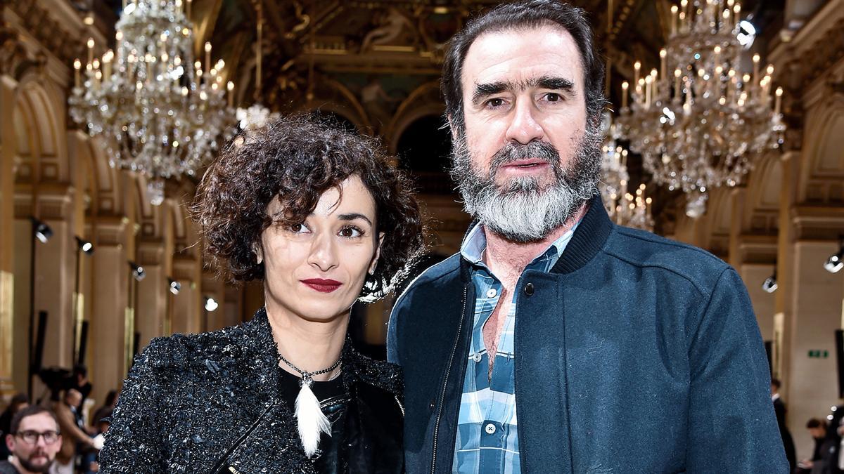 Эрик Кантона с женой