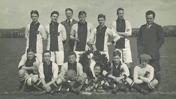 Состав Аякса в 1911 году