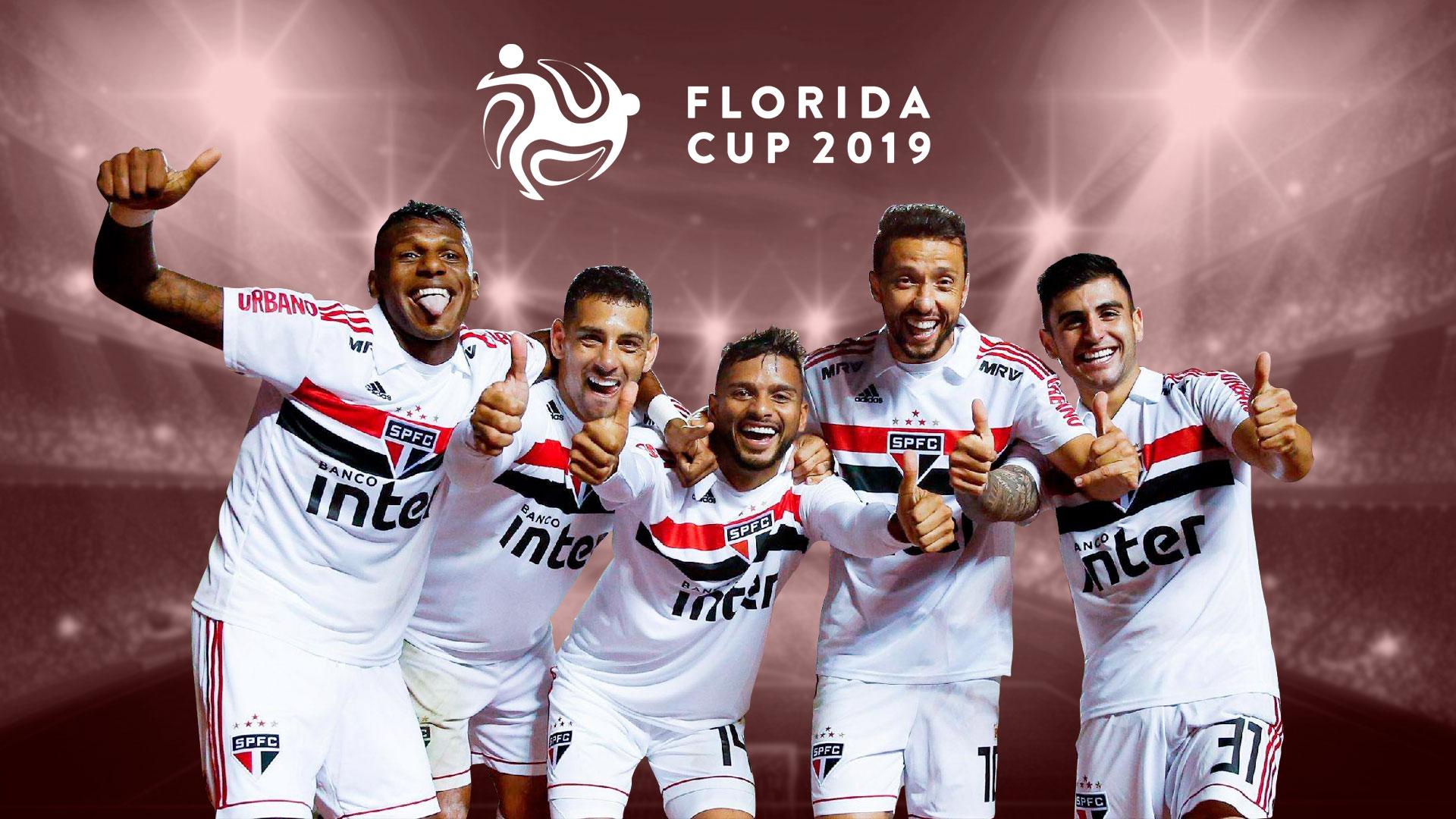 Форма Сан-Паулу к кубку Флориды 2019