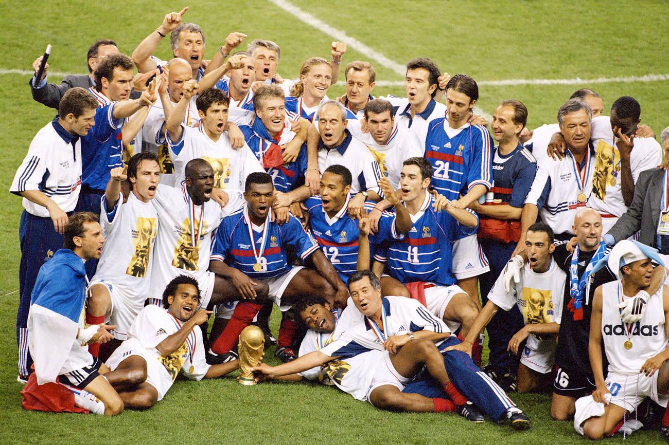 Сборная Франции 1988