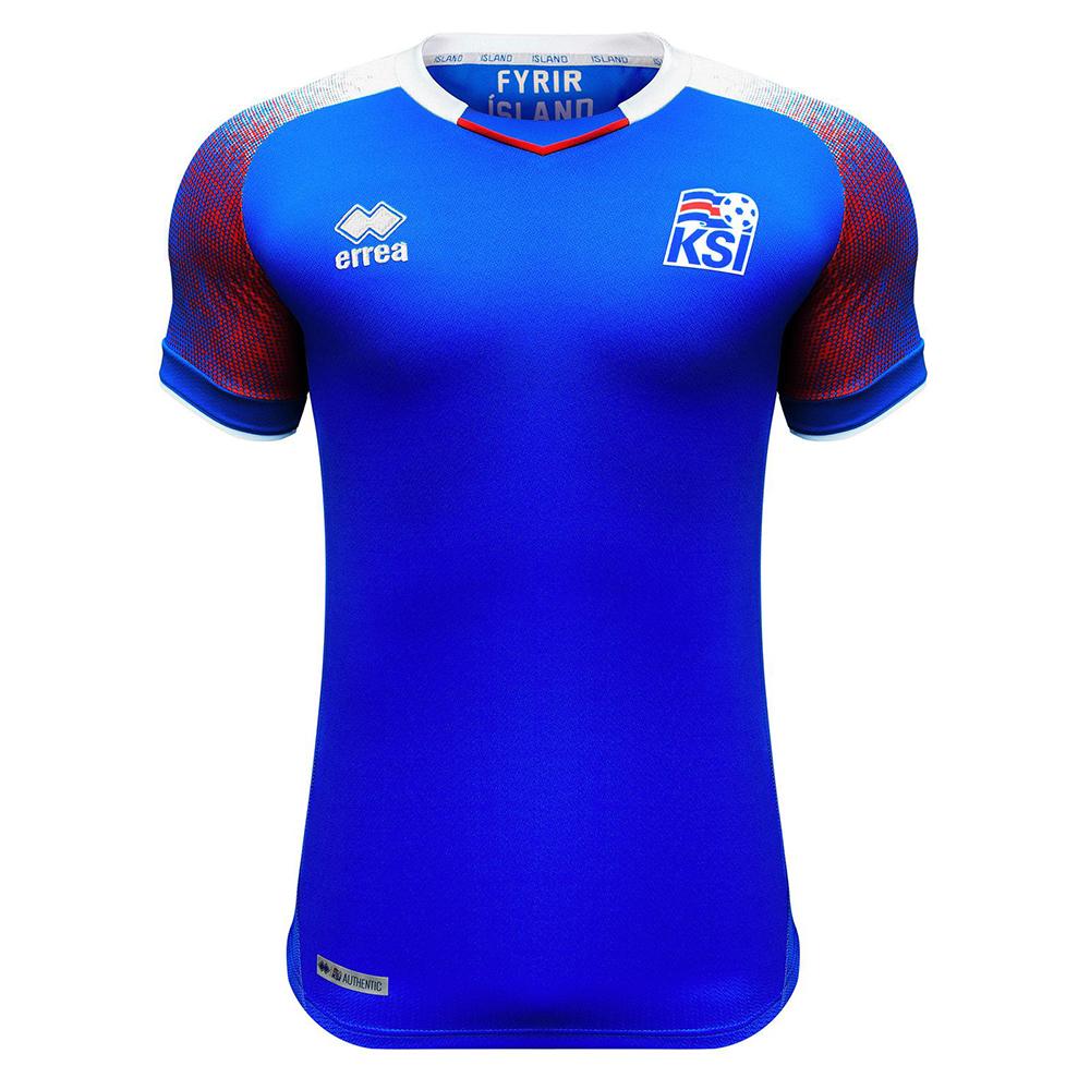 Домашняя футболка сборной Исландии 2018