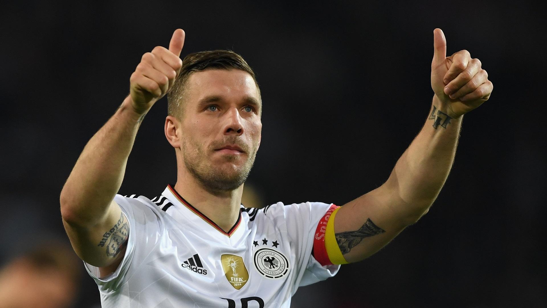 Подольски в сборной Германии