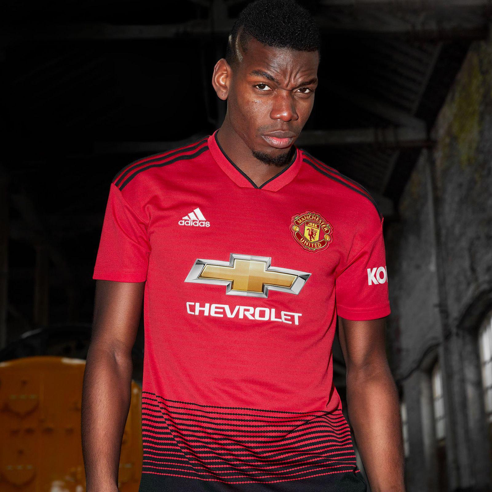 Новая домашняя форма Манчестер Юнайтед 2018 2019
