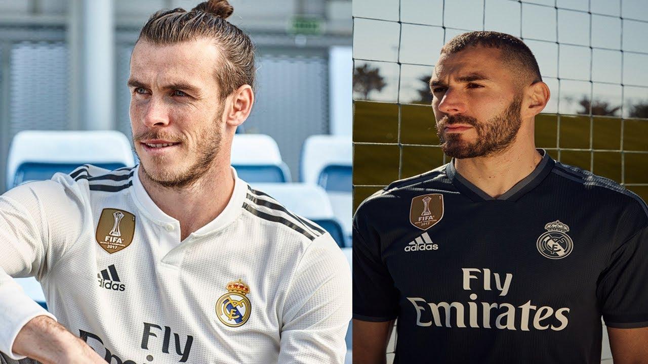 Домашняя (слева) и гостевая (справа) форма Реала сезона 18/19