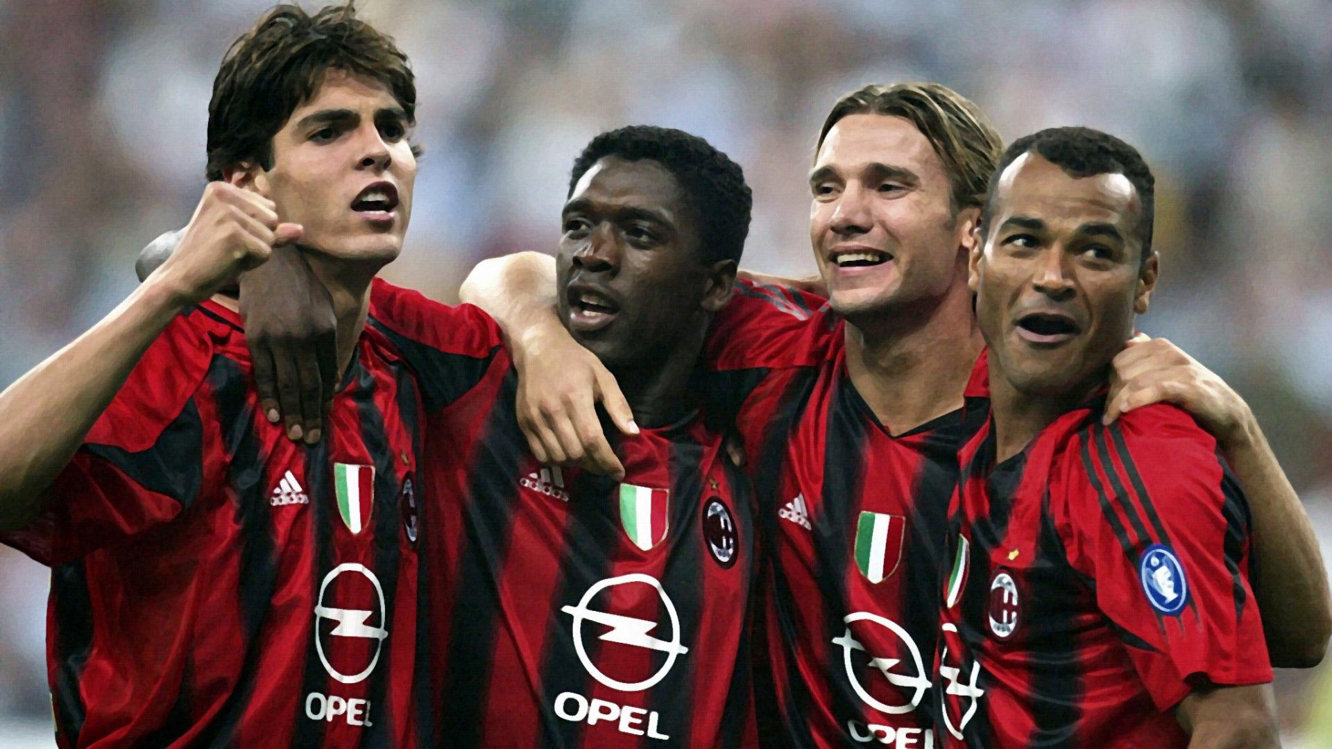Кака в звёздный час Милана.